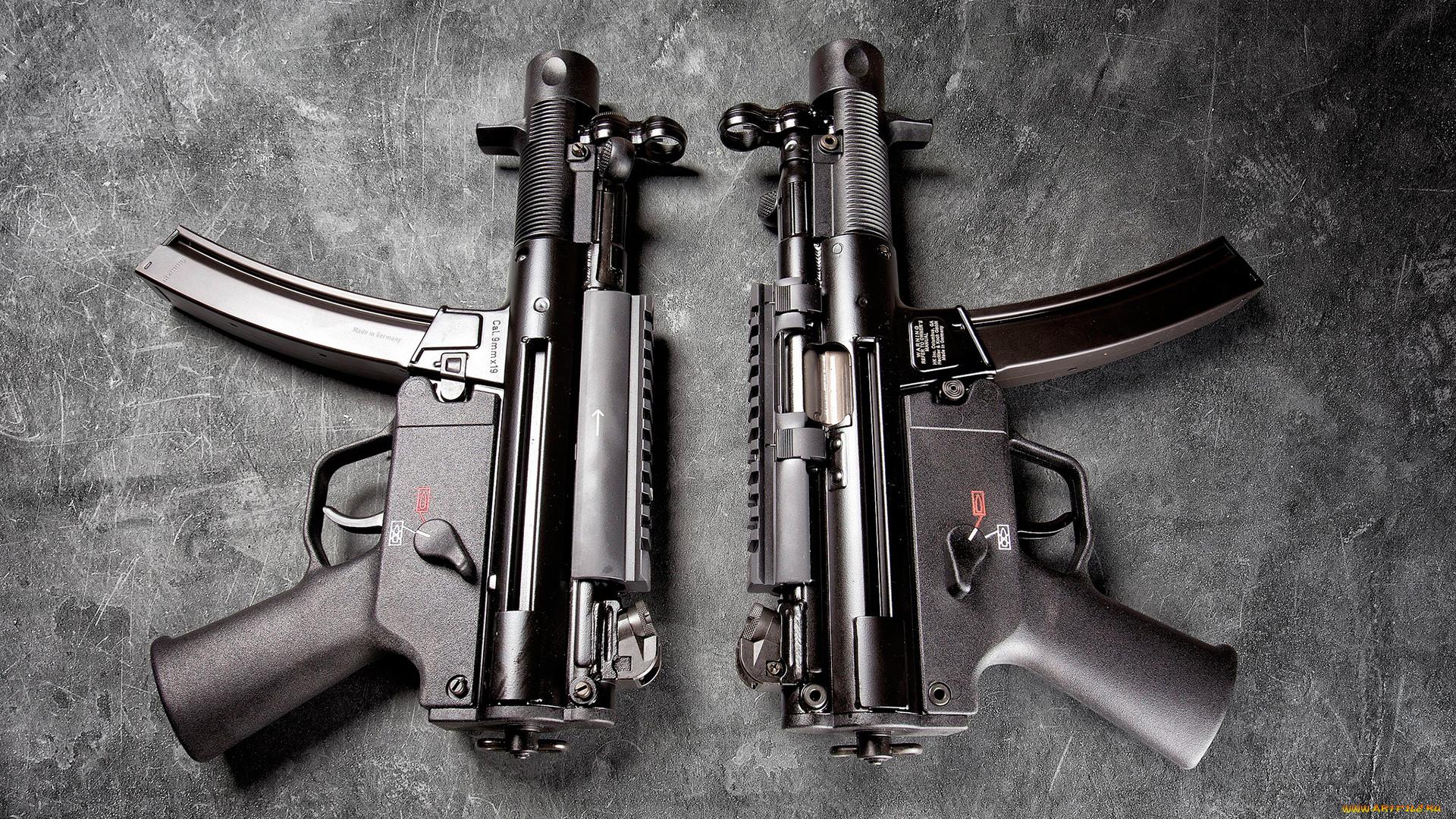 оружие, автоматы, hk, sp5k